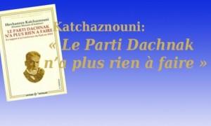 Le Parti Dachnak n'a plus rien à faire -6