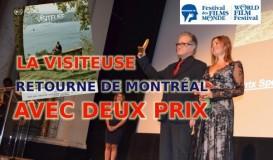 La Visiteuse a arraché deux prix à Montréal