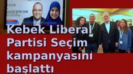 Liberal Parti seçim düğmesine bastı