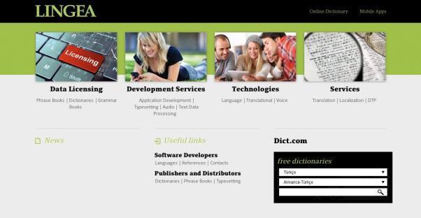 Le site des langues et la maison d'édition Lingea.