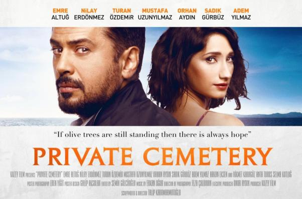 Private Cemetrey will be screening on Saturday at 7pm.