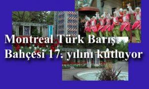 Türk Barış Bahçesi 17. yılında