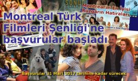 Montreal Türk Filmleri Şenliği'ne başvurular başladı