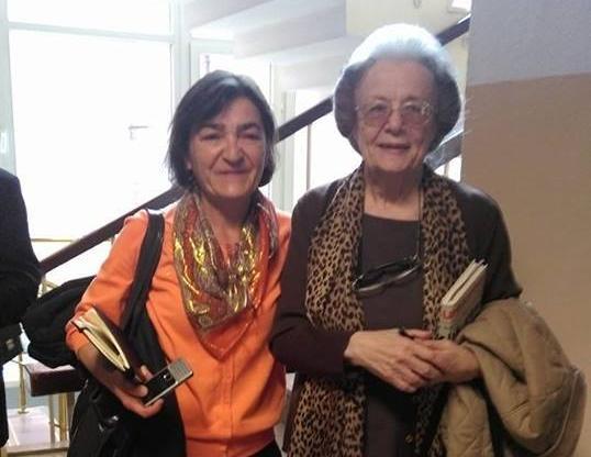 Gazeteci Müyesser Yıldız ve Meriç Velidedeoğlu da oradaydı.