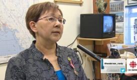 Nellie Kusugak au poste de commissaire du Nunavut