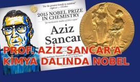 Prof. Aziz Sancar'a Kimya Dalında Nobel Ödülü