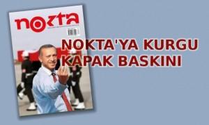 Erdoğan'lı Nokta Dergisi'ne toplatma