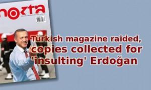 Turkish magazine raided…