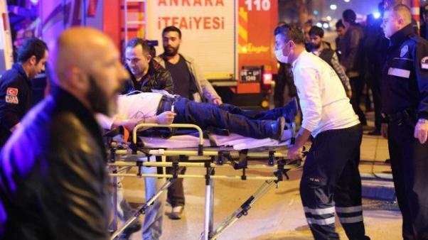 Yaralılar hastanelere taşındı.