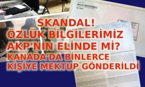 Skandal! Özlük bilgilerimiz AKP'ninn elinde mi?