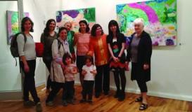 Pelin Yazar Kişisel Sergisi E.K.Voland Sanat Galerisi'ndeydi