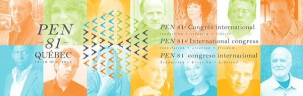 81e Congrès du PEN international à Québec
