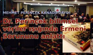 Mehmet Perinçek Kanada'daydı