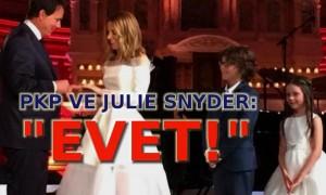 PKP ve Julie Snyder evlendiler