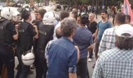 Ankara'da Suruç protestosu