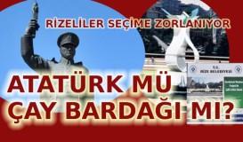 Atatürk mü çay bardağı mı?