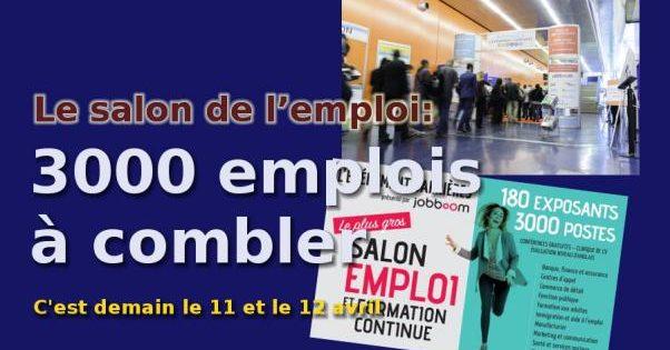 L'Événement Carrières: 3000 emplois à combler