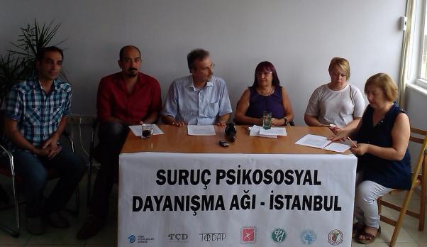 Suruç Psikososyal Dayanışma Ağı basın açıklaması yaptı.