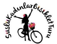 Süslü Kadınlar Bisiklet Turu oluşumunun simgesi
