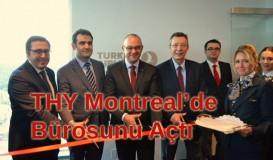 THY Montreal bürosunu açtı