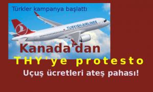 Türklerden THY'ye protesto