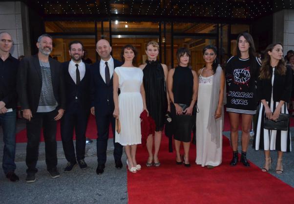 Türk filmleri Montreal'e çıkarma yaptı. Bazı Türk yönetmen ve oyuncular kırmızı halıda. Fotoğraf: Bizim Anadolu / Ömer F. Özen