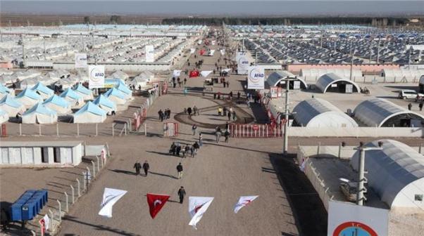 Türkiye 2,5 milyon Suriyeli sığınmacı barındırıyor.