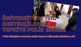 Polis cihatçıları korudu