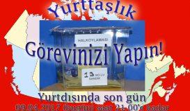 Türk toplumu sandık başında