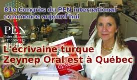 Zeynep Oral est à Québec